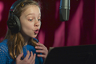 Voiceover talent Emma Myers